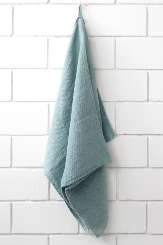 linen face towel