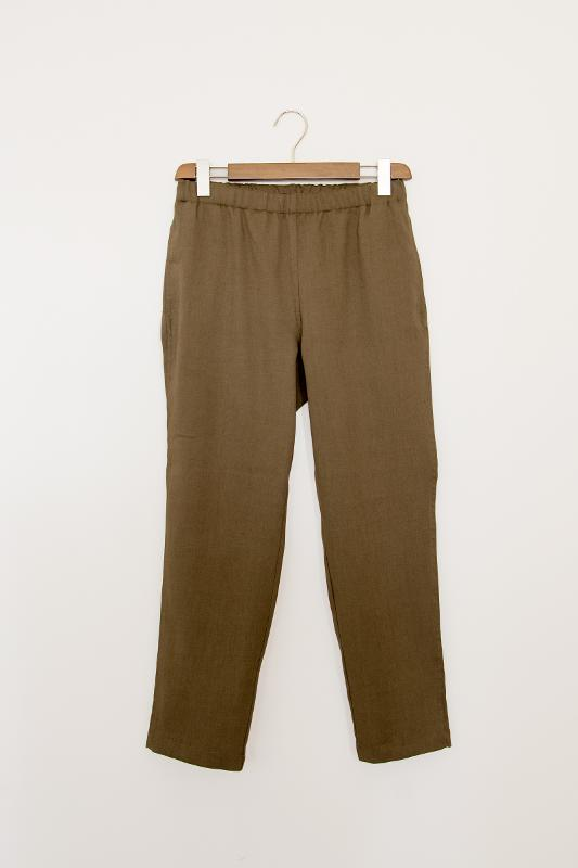 Pants with elasticized waist