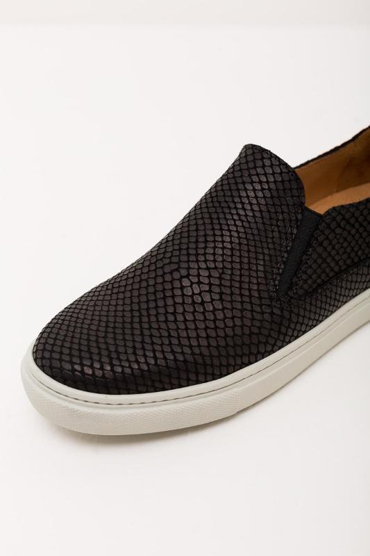 Python effect slip-on sneakers